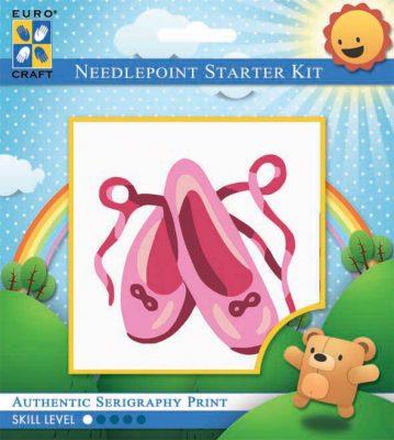 Kinder Borduurpakketje Baletschoentjes
