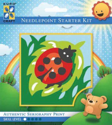 Kinder Borduurpakketje Lieveheersbeestje