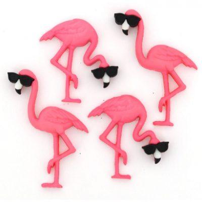 Fantasie Knoopjes Think Pink Flamingo's 10407-Dress it Up