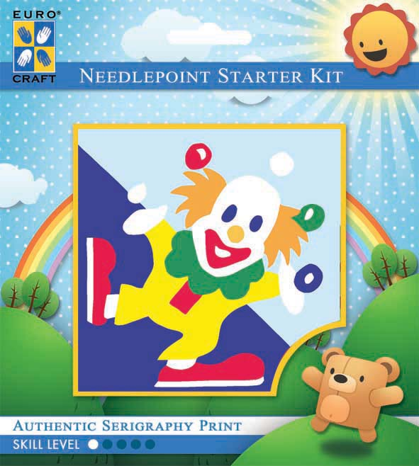 Kinder Borduurpakketje Clown