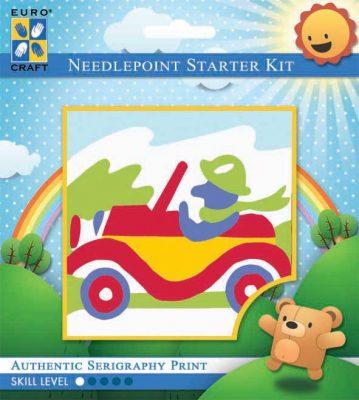 Kinder Borduurpakketje Auto