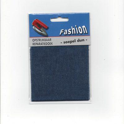 Opstrijkbaar Reparatiedoek Donker Jeans
