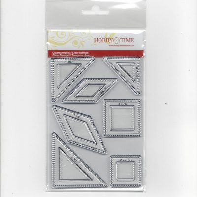 Transparante Quiltstempel CRE0152 Le Moyne Star small