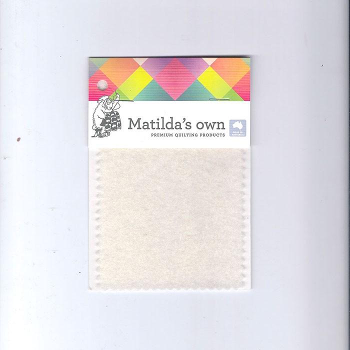 Matilda,s Own 100 % wollen Batting. Wasbaar. 240 cm breed.