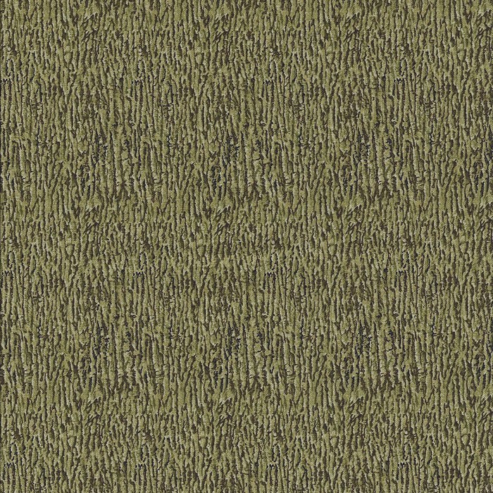 Mosgroene stof met de bast van een boom.