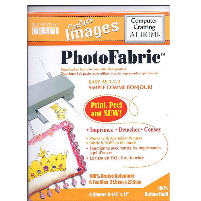 Photo Fabric Cotton Twill