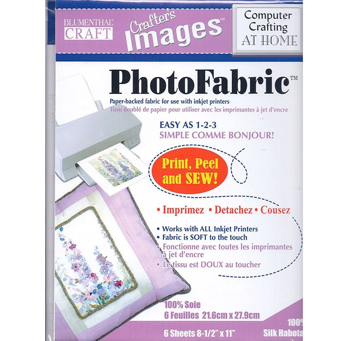 Photo Fabric Silk