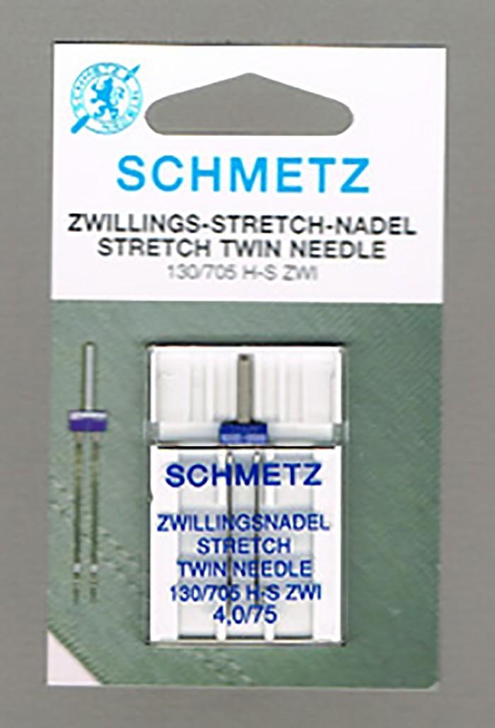 Schmetz stretch tweeling naaim.nld 4,0/75