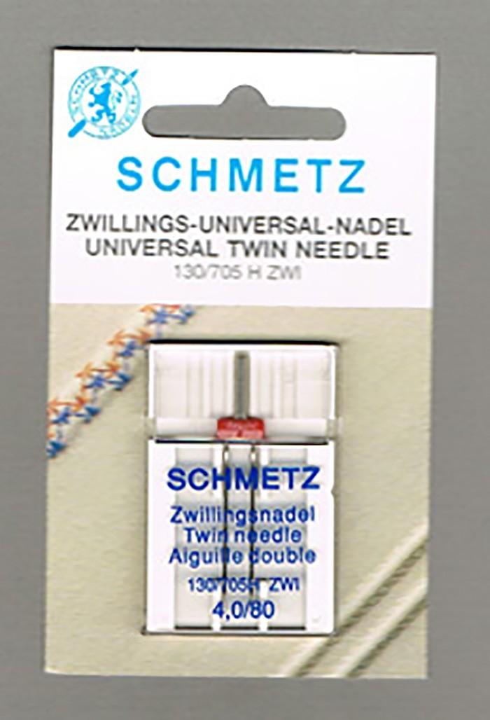 Schmetz tweeling naaimachine naald 4,0/80