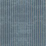 Oud blauw en grijs gestreepte stof