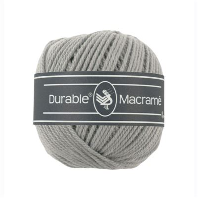Durable Macramé garen Light Grey 2232
