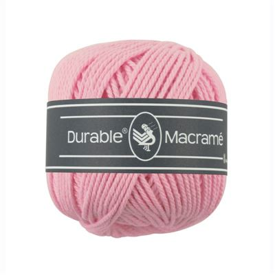 Durable Macramé garen Pink 232