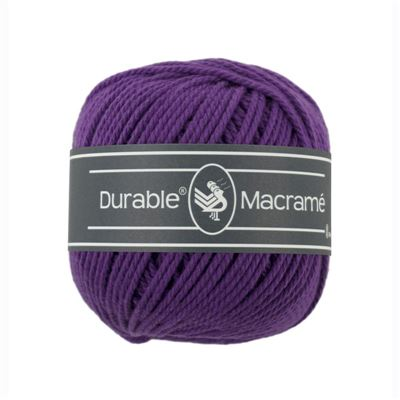 Durable Macramé garen Violet 271