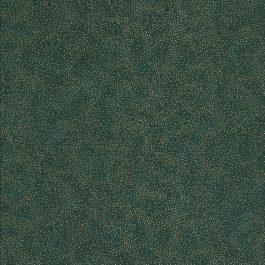 Groene stof met gouden stipjes