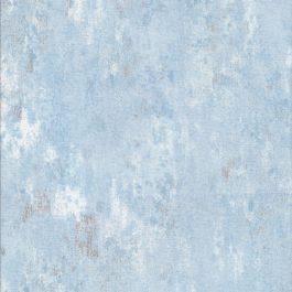 IJsblauwe met zilveren opdruk