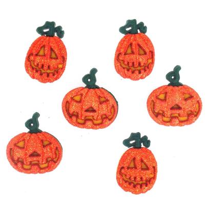 Fantasie Knoopjes Glitter Pumpkins 4859