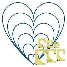 Westalee 6 pc Heart Template set Low Shank
