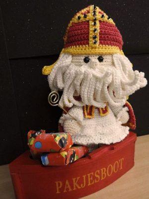 Haakpakket Funny Sinterklaas