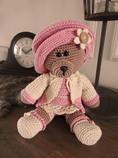 Haakpakket Funny Bear Mary