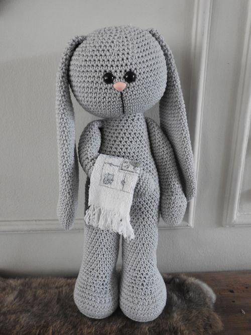 Haakpakket XXL Funny Bunny Basic staand