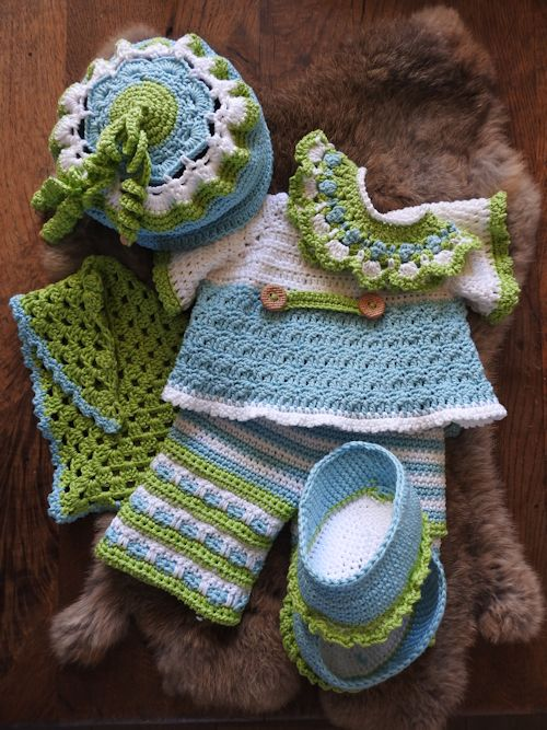 Haakpakket Funny Bunny XXL kledingset Spring soft