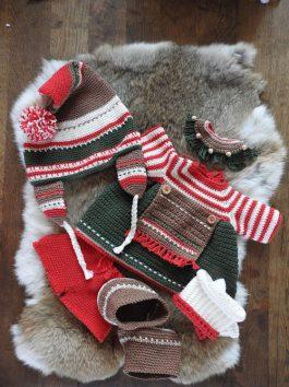Haakpakket XXL Funny Kleding Christmas girl