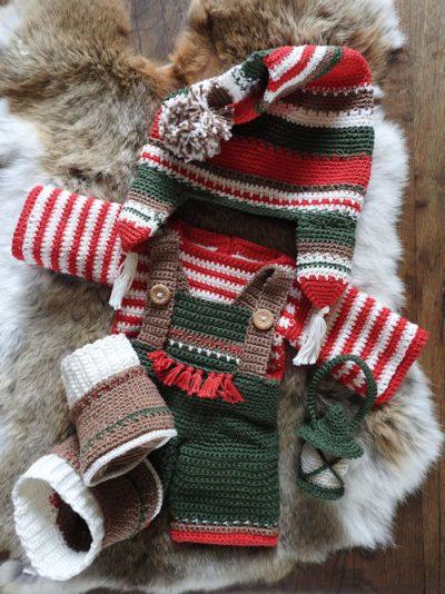 Haakpakket XXL Funny kledingset Christmas Boy