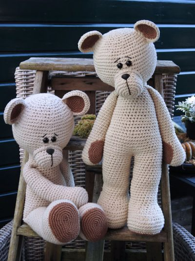 Haakpakket XXL Funny Bear Linnen