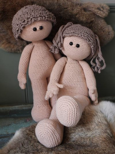 Funny XXL Doll Basic (zittend of staand)