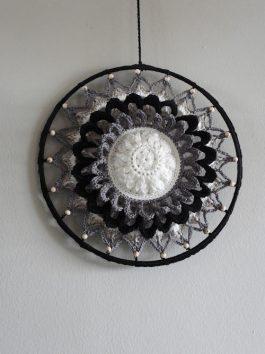 Haakpakket Funny Mandala Sunflower 40cm