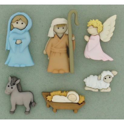 Fantasie Knoopjes Nativity Cropped 7473