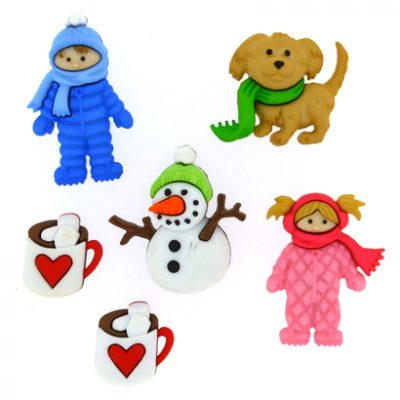 Fantasie Knoopjes Fun in The Snow 8312-Dress it Up