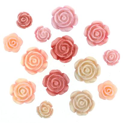 Fantasie Knoopjes Roses 9377