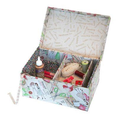 Kartonnagepakket Big Sewing Box-Rinske Stevens