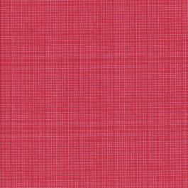 Roze rode stof met witte streep patroon-Camelot