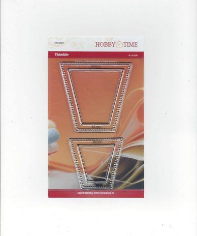Transparante Quiltstempel CRE0087 Vingerhoedjes
