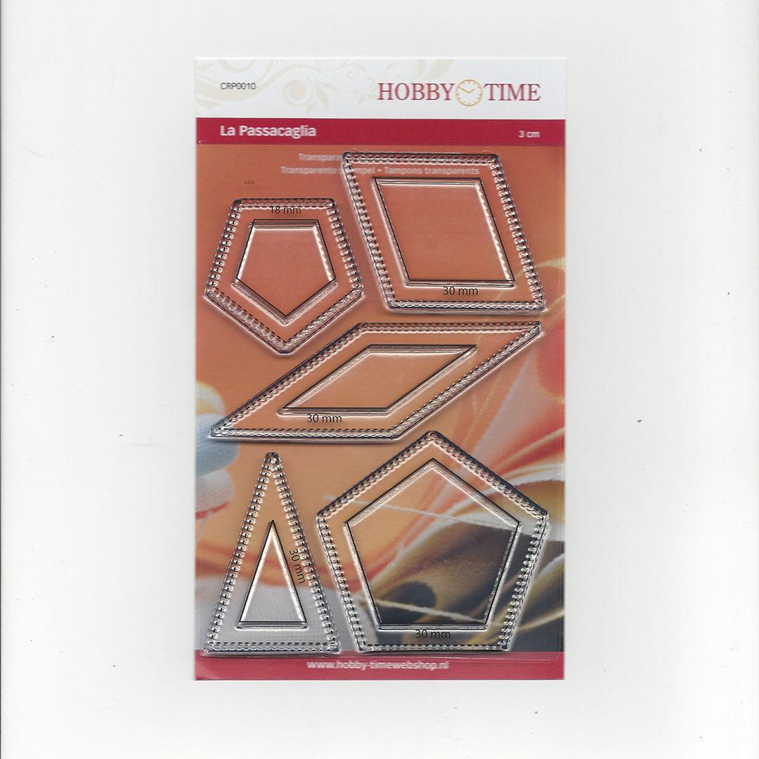 Transparante Quiltstempel CRP0010 Passacaglia