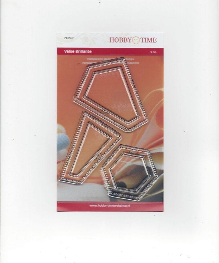 Transparante Quiltstempel CRP0011 Valse Brillante