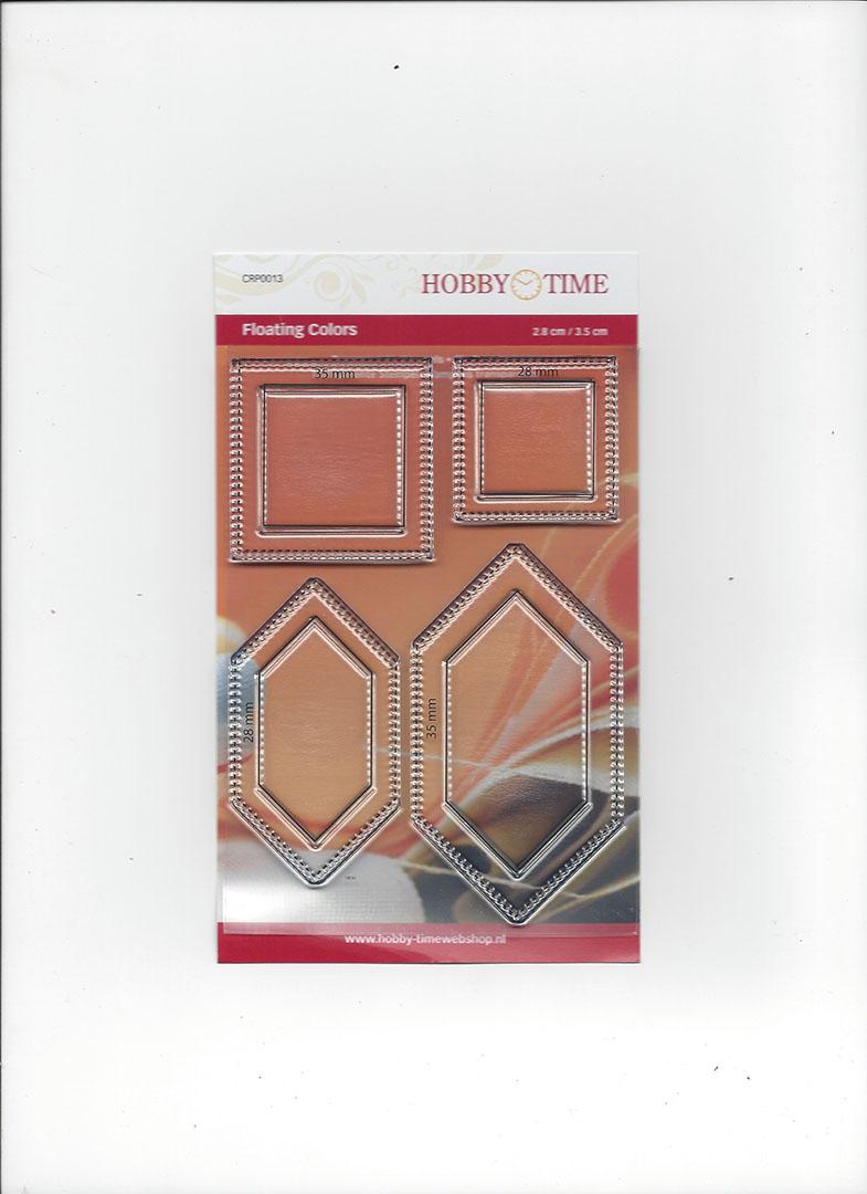 Transparante Quiltstempel CRP0013 Floating Colors