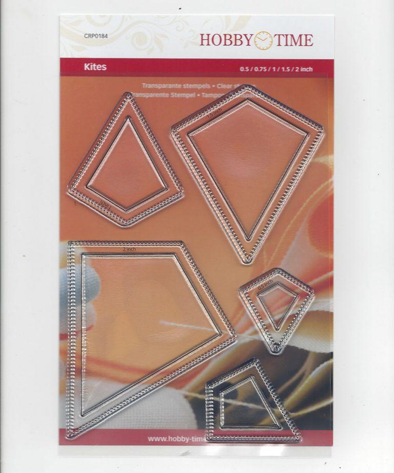 Transparante Quiltstempel CRP0184 Kites