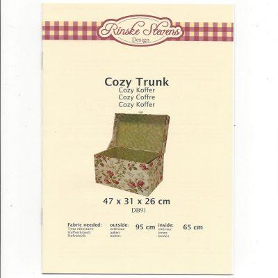 Kartonnage pakket Cozy Trunk