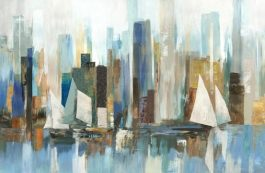 Panel Harbor Reflections-Northcott