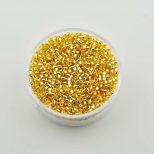 Delica beads 9963-074 Silver Gold