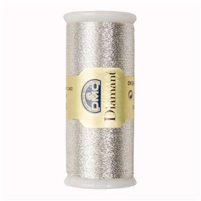 DMC Diamant Metallic Garen D100 Licht zilver