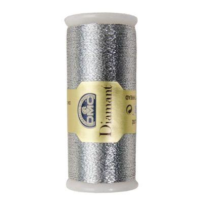 DMC Diamant Metallic garen D415 Zilver