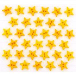 Fantasieknoopjes Micro mini stars 2923-Dress it up