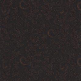 Donker bruine stof met lichte takken-Henry Glass