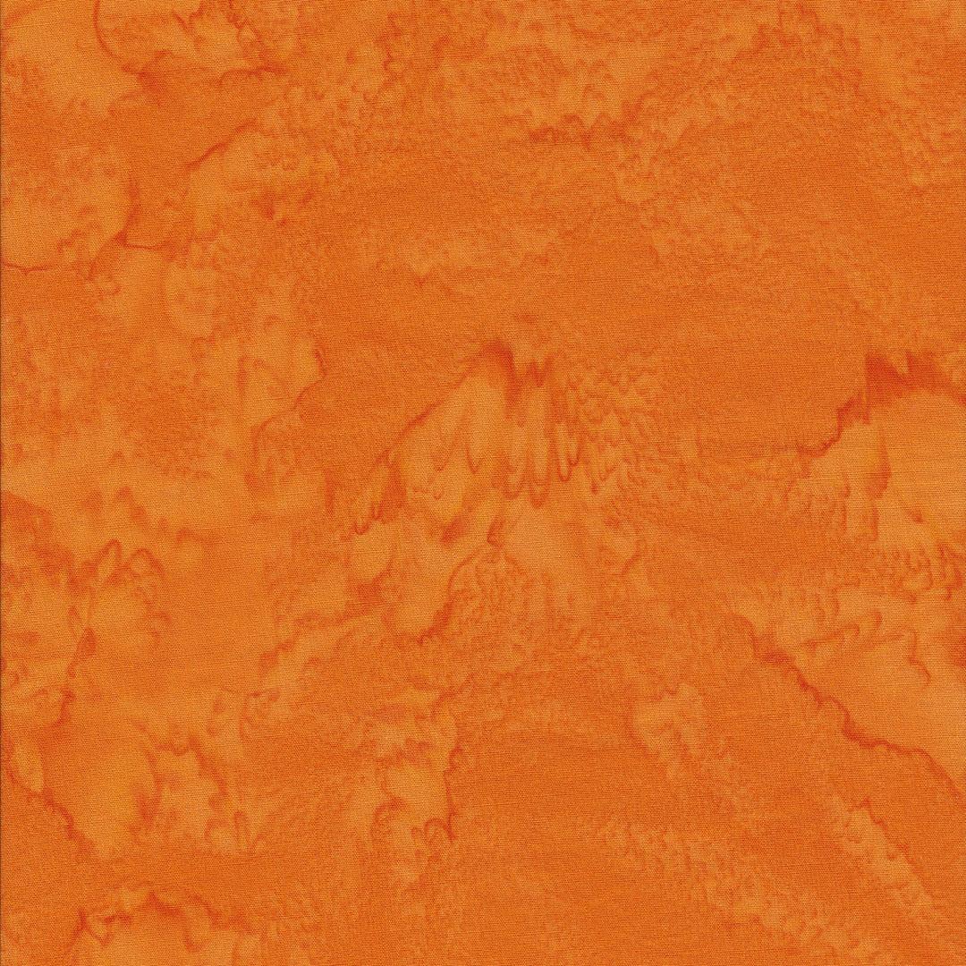 Ongebruikt Batik stof donker oranje - Hobby Time BK-53