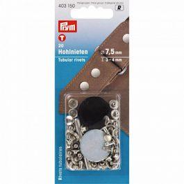 Prym Holnieten 3-4mm zilverkleur