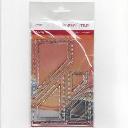Transparante Quiltstempel CRP0357 Tuscany Star NIEUW